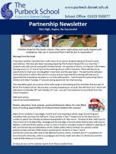 Partnership Newsletter 2014