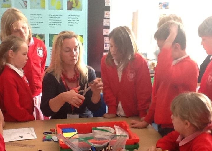 DT Workshop at St George's Primary School