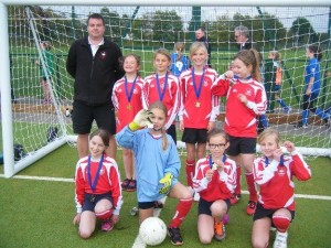 Y5&6 girls football 1